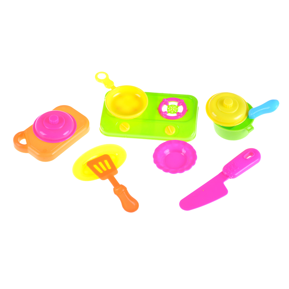 9pcs /set Kids House children Kitchen Toys For Girls Cooking Food ...