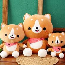 New Cute Corgi Dog Plush Toy Stuffed Soft Animal Christmas Gift for Kids Kawaii Valentine Present