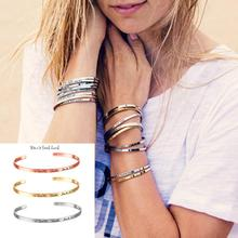 GEMIXI 2018 Fashion Women Cuff Bangle Jewelry Letter Bracelet  4.13-in Bangles from Jewelry & Accessories on Aliexpress.com | Alibaba Group