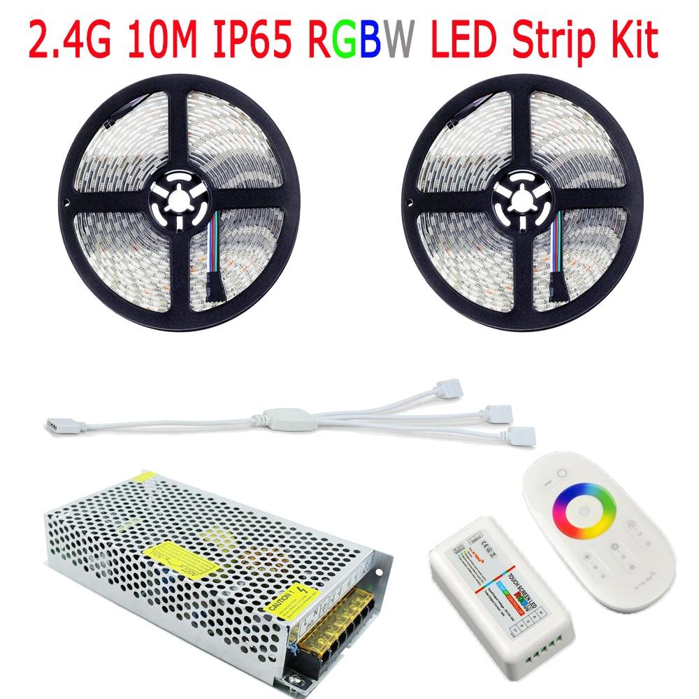 20M SMD 5050 RGBW RGBWW LED Strip IP65 Silikon Suya davamlı 60LED / - LED işıqlandırma - Fotoqrafiya 3