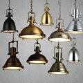 Sótão Luz Pingente Lâmpada Do Vintage E27 Iluminação Interior Luminária Loft/Bar/Sala de Jantar Do Vintage Pingente Industrial luz