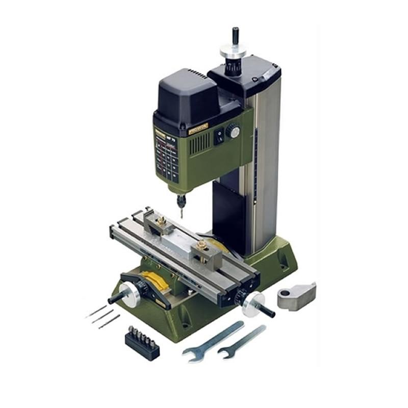 220 V 100 W PROXXON Mini Fresatrice MF70 Bench Driller Mini Legno Tornio Macchina
