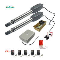Heavy Duty Automatic Swing Gate Opener Remote 50 meters control gate opening system