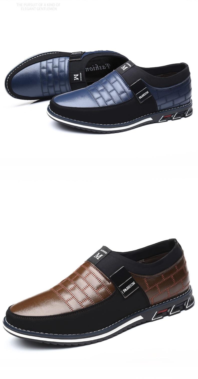 HTB1mj1Ga1P2gK0jSZFoq6yuIVXak ZUNYU New Big Size 38-48 Oxfords Leather Men Shoes Fashion Casual Slip On Formal Business Wedding Dress Shoes