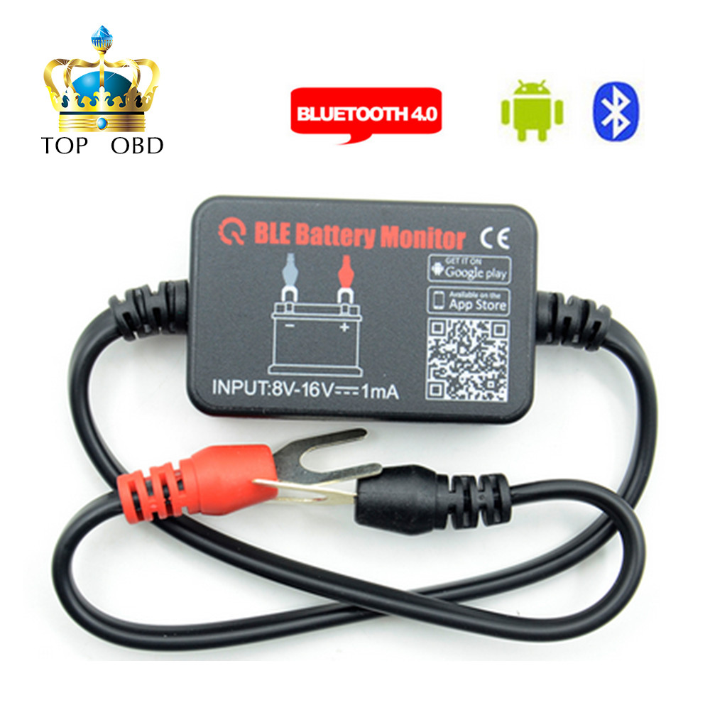 Image 2 - BM2 Battery Analyzer Tester Battery Car Bluetooth 12v Electric Circuit Cranking Test for Android IOS Diagnostic Tool Automotive-in Battery Measurement Units from Automobiles & Motorcycles
