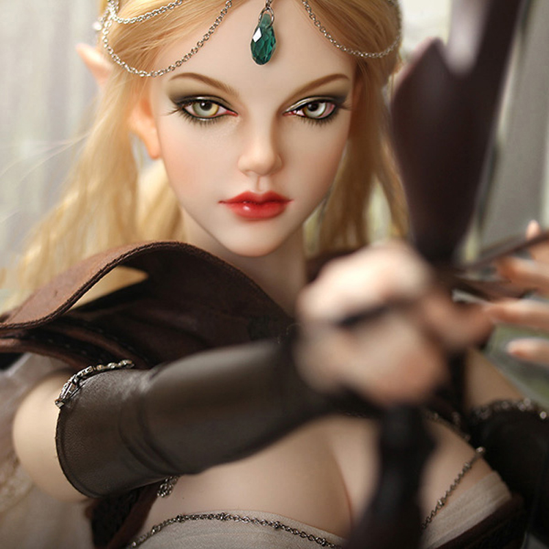 1/3 BJD Doll BJD/SD Fashion Beautiful Grace Resin Joint Doll With Free Eyes For Baby Girl Birthday Christmas Gift