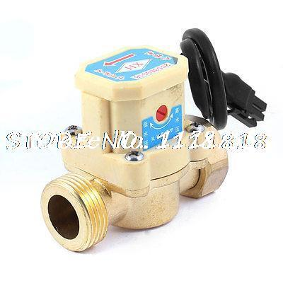 3/4 PT Male Thread 120W Power Electric Pressure Water Flow Switch for Pump 13mm male thread pressure relief valve for air compressor