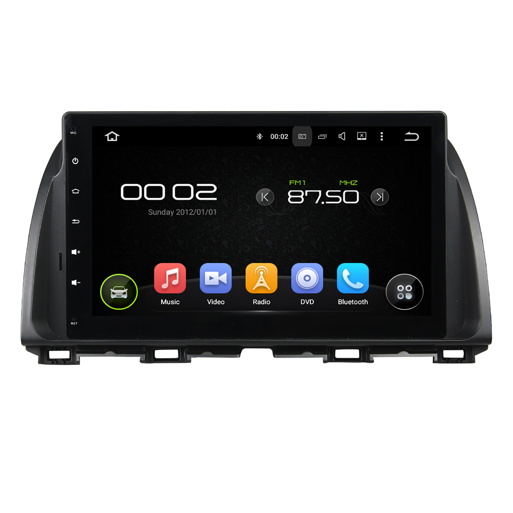 10.1 inch Screen Android 5.1 Car DVD Player GPS <font><b>Navigation</b></font> System Media Stereo Audio Video for <font><b>Mazda</b></font> <font><b>CX5</b></font> CX-5 ATENZA image