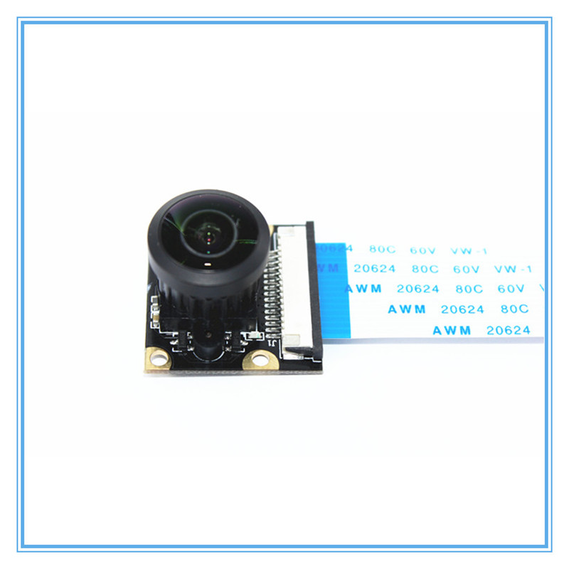 Image 4 - Raspberry Pi Camera Module Adjustable focus Wide angle lens 222 Degree with Infrared LED Supports Night Vision OV5647 For RPi-in Demo Board Accessories from Computer & Office