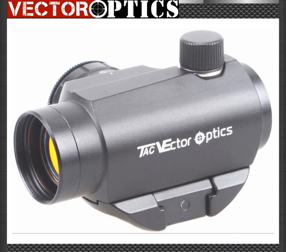Vector Optics Maverick AR15 M4 1x22 Tactical Red Dot Scope Sight with 20mm Quick Release High Riser Picatinny Mount Base vector optics tactical harrie 1x22 mini red dot scope reflex pistol weapong gun sight with 21mm picatinny mount base