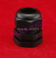 5 Piece/bag PG36 plastic fixed cable glands PG type nylon66 material water-proof