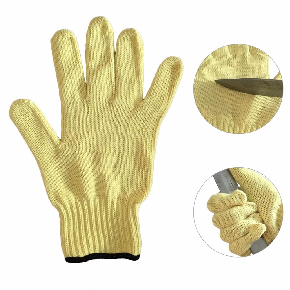 1 Pair of Working Gloves Anti-Cut Wear-Resistant Safety Gloves Anti Abrasion Gardening Gloves Labor Protective Gloves insulated gloves electric gloves 5kv anti live live work high pressure live work labor protection protective rubber gloves
