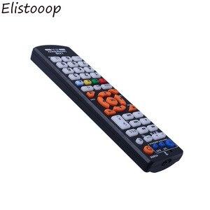 Image 2 - Elistooop evrensel uzaktan kumanda profesyonel uzaktan kumanda öğrenme fonksiyonu ile destekler TV SAT DVD akıllı kontrol Part2018