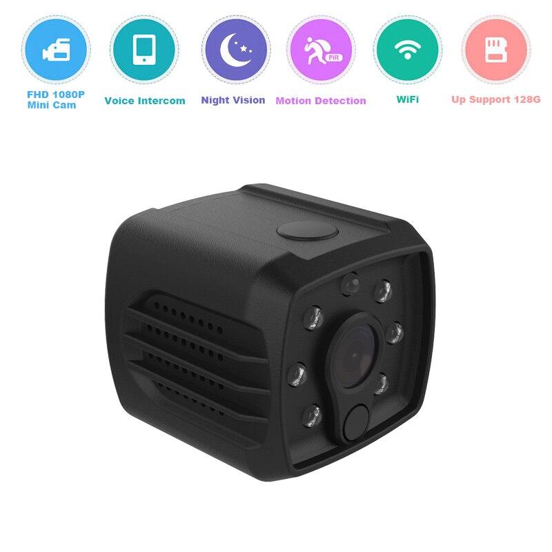 FHD 1080P mini camera ip wifi mini wireless ip night vision cam small micro video camcorder