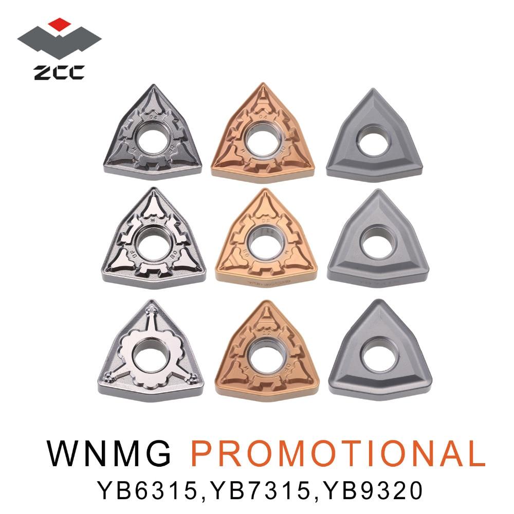 10 pçs/lote promocional WNMG0804 cimentado carboneto inserções WNMG 080408 WNMG080404 novo revestimento para o aço fundido de ferro ferramentas de torno cnc