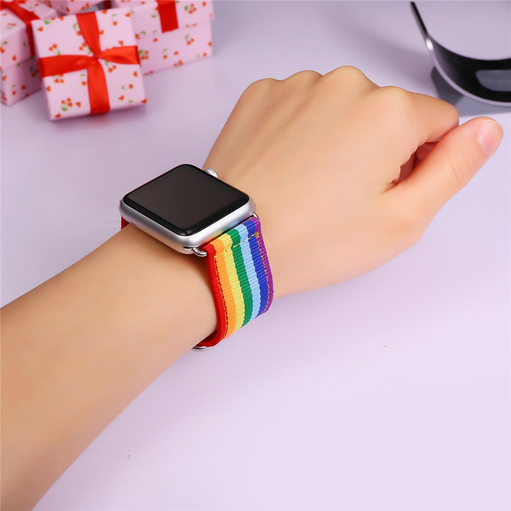High Quality Fabric Watch Strap Watchband For Applewatch