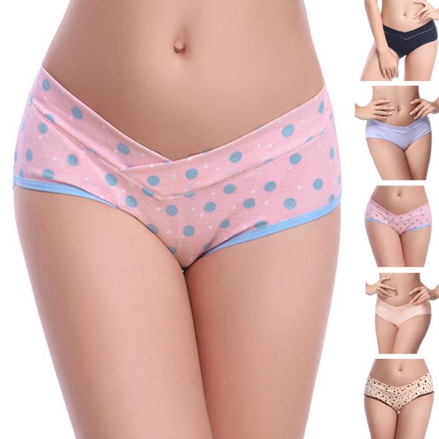 Low Waist Panties Maternity U-Shaped Underwear