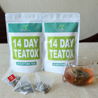 Men Women Slimming Body Fat Burning 14 Days Detox Weight Loss l Products Natural detox Herba Morning Night Drink Slim Goods