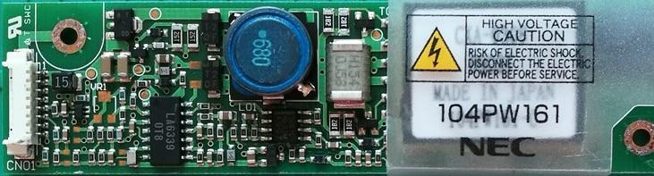 PCU-P113,CXA-0308,104PW161,Original TDK Inverter for compatible instead tdk cxa 0349 pcu p141a cxa0349 lcd ccfl inverter board