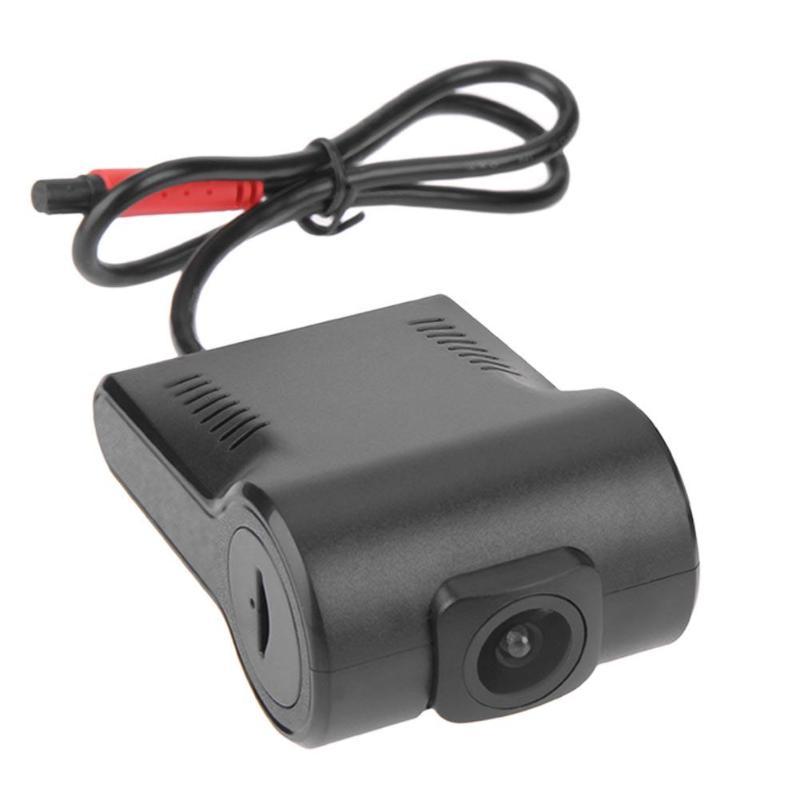VODOOL 720P HD No Screen Hidden USB Car DVR Dash Camera Dash Cam HDMI G-sensor Driving Recorder for Android Car GPS Navigator