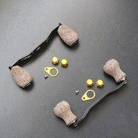 DIY bobine de carbone boutons conversion roue pièces 5mm * 8mm gauche et droit 1 pcs/lot livraison gratuite