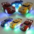 Hot wheels Автомобили Игрушки с Свет Карданного Колеса 3D легкая Музыка Электрические Игрушки Автомобили Juguetes Светящиеся Игрушки для Детей подарок