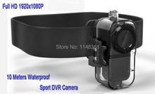 2016 New 10M Waterproof Full HD 1920x1080P Sport Action Digital Video Camera Mini DV Camera Free shipping