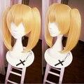 Sangu Mitsuba Owari no Seraph do fim de fibra resistente ao calor peruca Cosplay Anime Cos perucas do partido peruca de cabelo loiro