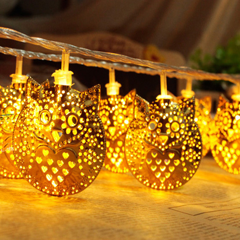 Online get cheap owl lights string for Decoration led exterieur