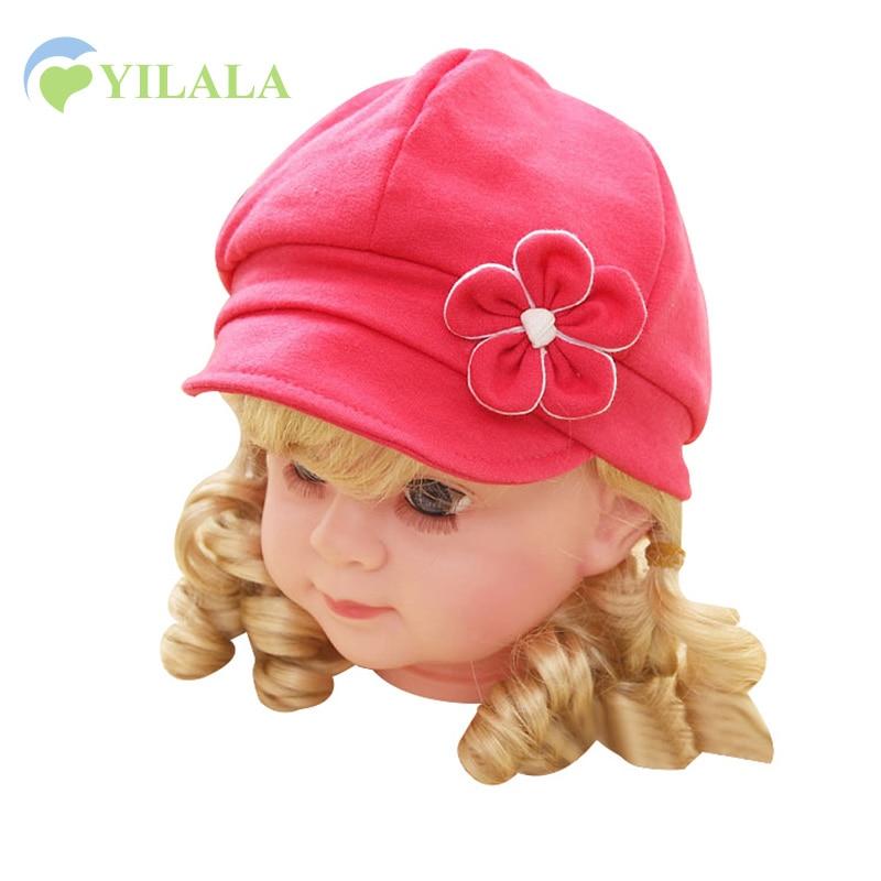 Algodón Gorra Recién Nacida Sombreros Lindos de las Muchachas de - Ropa de bebé