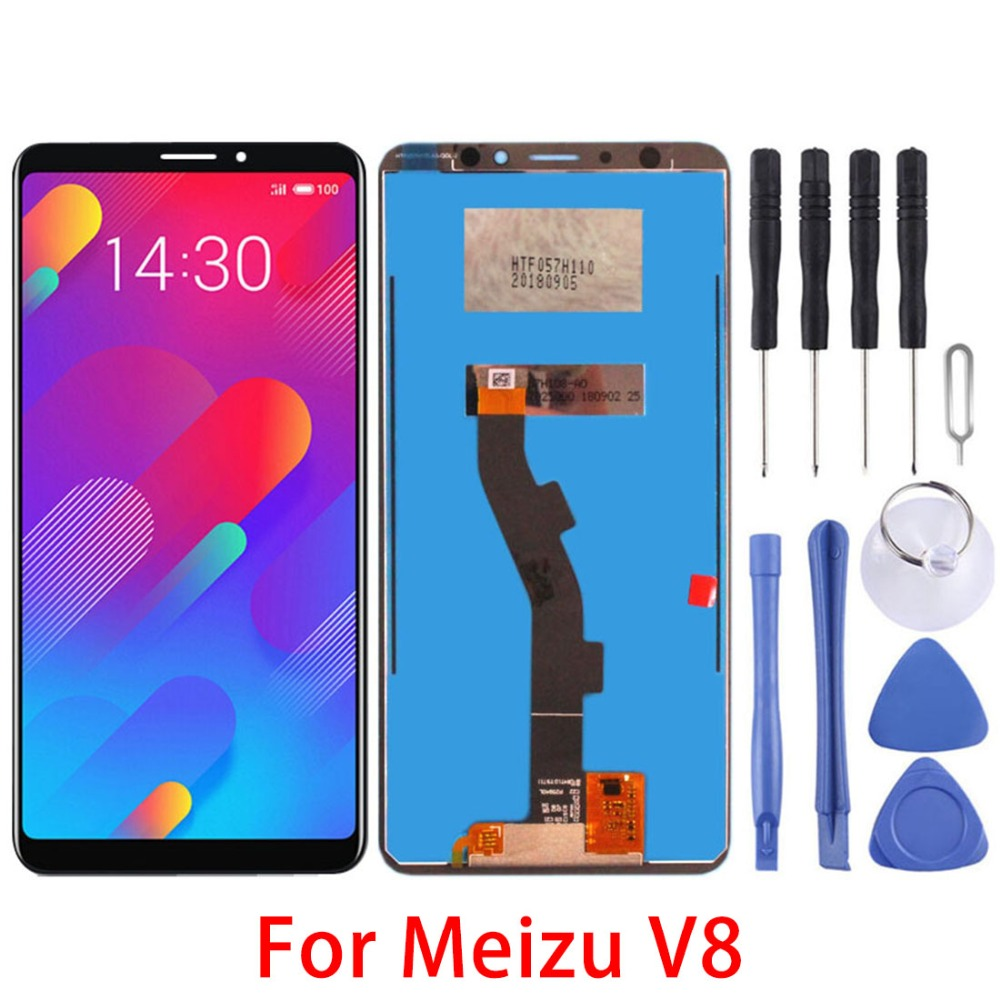 5.7 for For Meizu V8 LCD Screen And Digitizer Full Assembly For Meizu V8 Replacement repair parts5.7 for For Meizu V8 LCD Screen And Digitizer Full Assembly For Meizu V8 Replacement repair parts