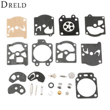 DRELD Carburetor Carb Repair Kit Gasket Diaphragm for Walbro K10-WAT WA WT Carburetor Stihl 028AV 031AV 032AV Chainsaw Parts