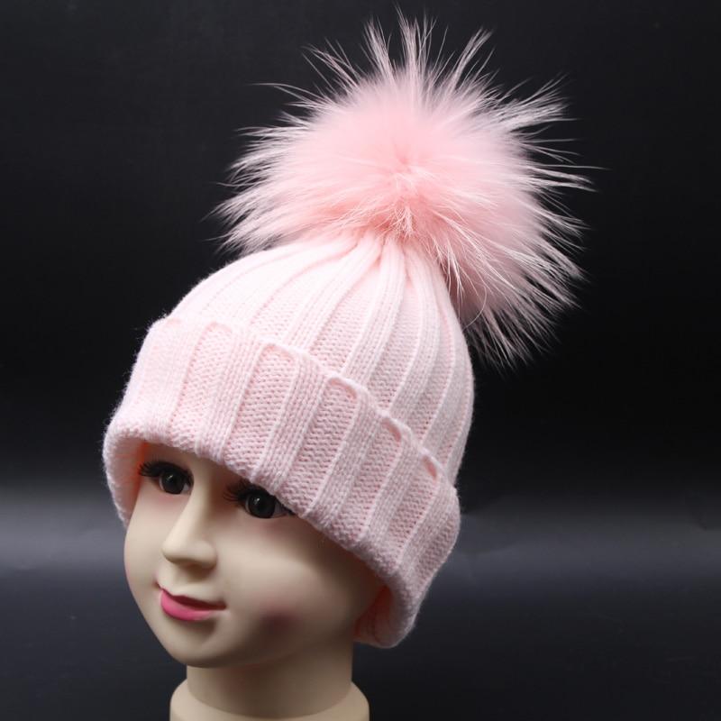 FURANDOWN 2019 New Fashion Musim Dingin Topi Untuk Anak-anak Rajutan - Aksesori pakaian - Foto 2