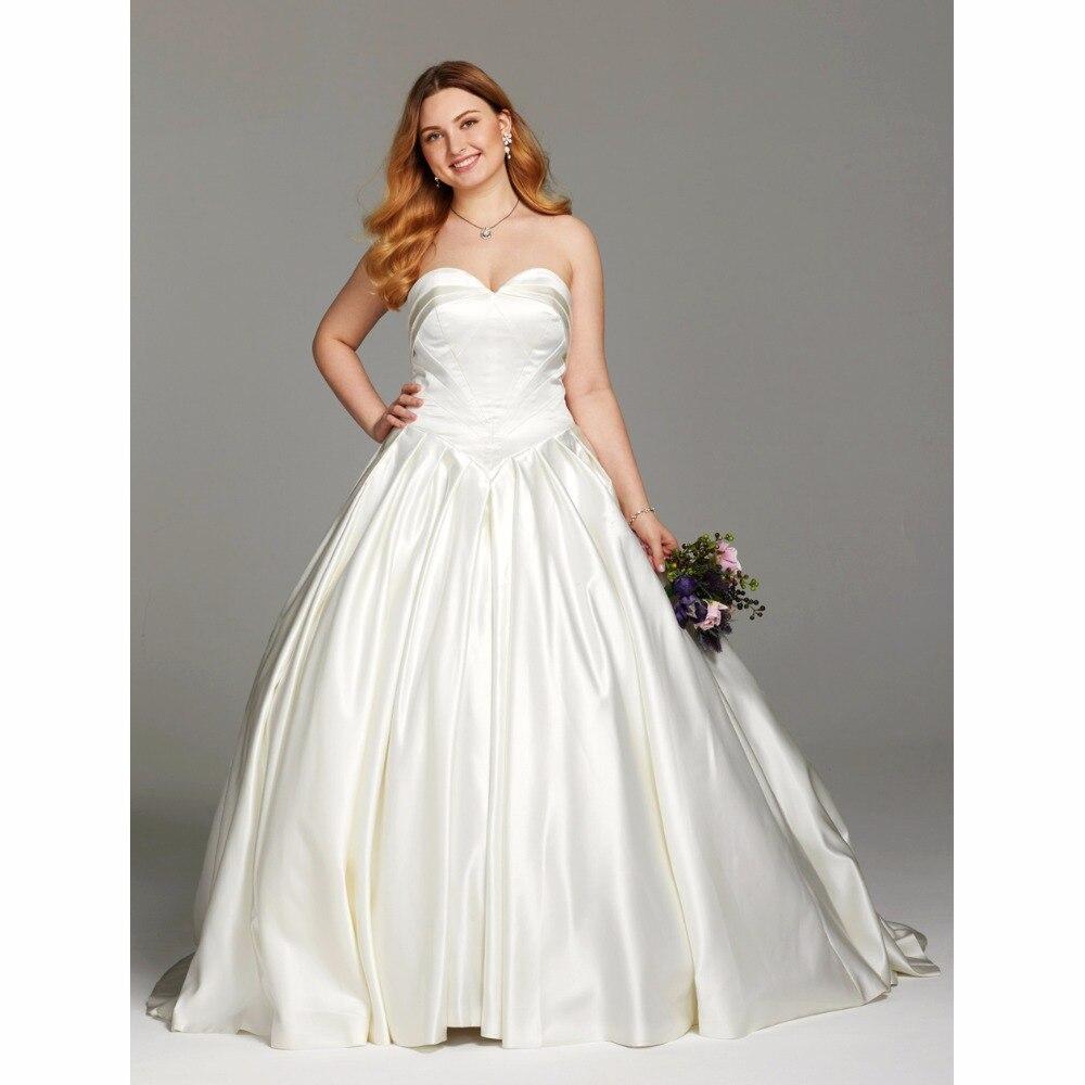 Ruching Wedding Gowns: LAN TING BRIDE Ball Gown Wedding Dress Sweetheart
