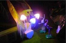 90% DE Ahorro de Energía de Luz Controlada Setas Colorido LED Lámpara de Inducción de Noche Enchufe Luz de Noche Bebé de Menos de $10