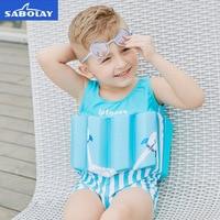 Kids Baby Boy Girls Swimming Float Coat Clothing Bathing Suit Children Swimsuit Safty Swimming Trainer costumi da bagno
