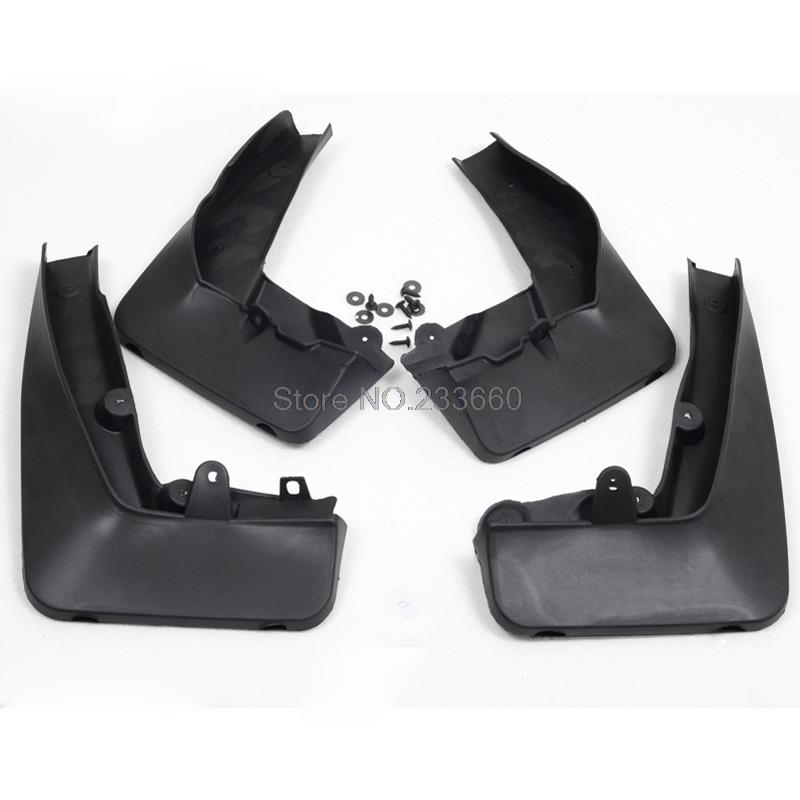 For BMW X1 E84 2009-2013 Splash Guard Mud Flaps Mudguard Fenders Mudflaps Mudguards Dirtboard 4pcs fit for jeep patriot deluxe molded mudflaps mud flap splash guard mudguards set free shipping