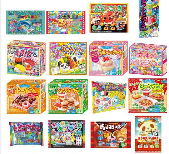 Japanese Popin Cookin Pizza.Kracie Pizza Kitchen Cookin Happy giapponese fai da te a mano giocattolo regalo di Natale