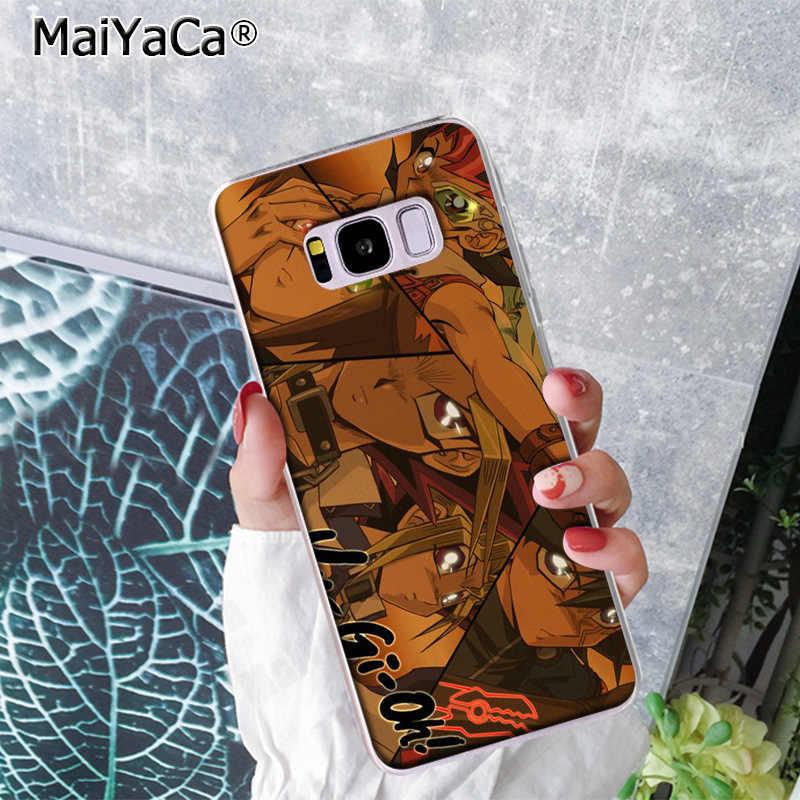 MaiYaCa Capa Yu-Oh-anime Caso de Telefone Tampa Traseira Colorido Moda para Samsung S9 S9 plus S5 s6S6edge S6plus S7 S7edge S8 S8plus