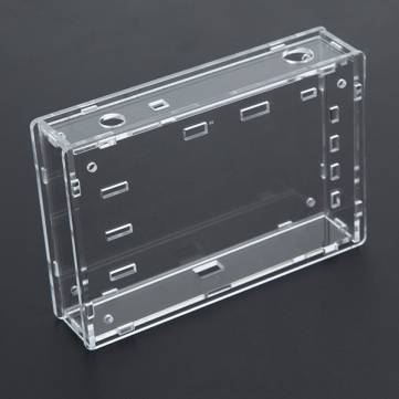 Transparent Acrylic Sheet Housing Case For DSO138 Oscilloscope