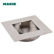 Stainless steel conceal recessed built-in Furniture Handle pull knob handle sliding door