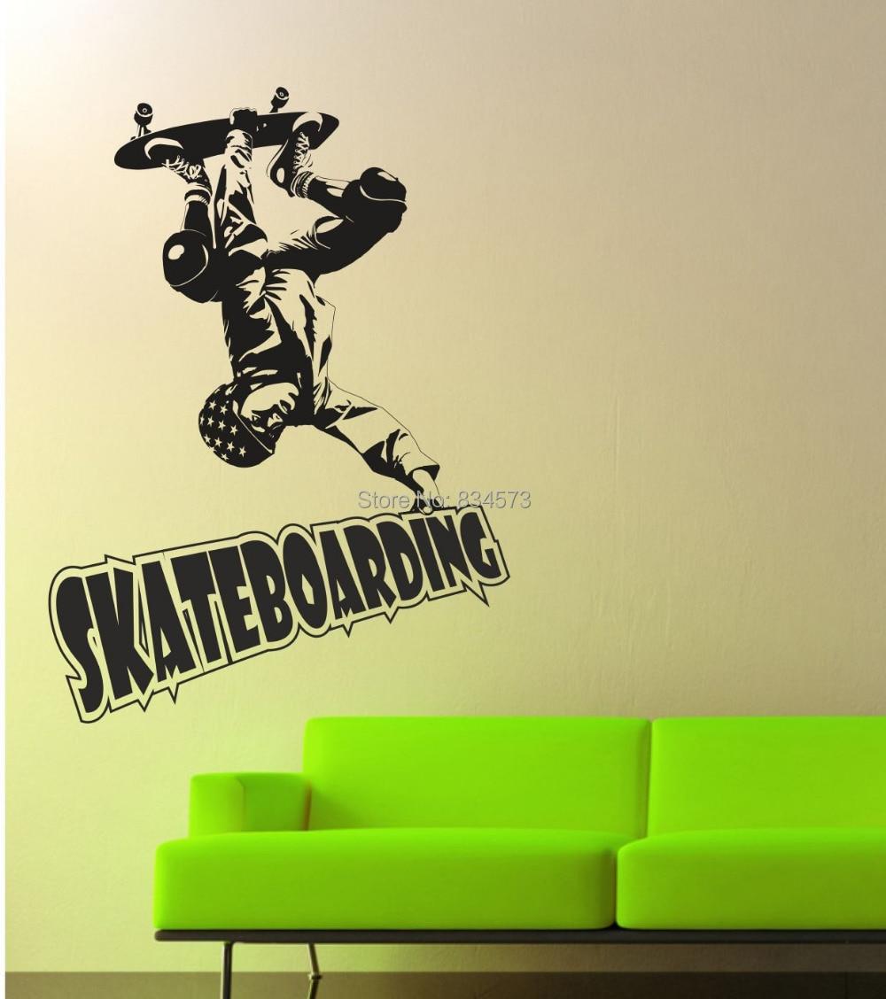 Skateboard Bedroom Decor Popular Skateboard Bedroom Decor Buy Cheap Skateboard Bedroom