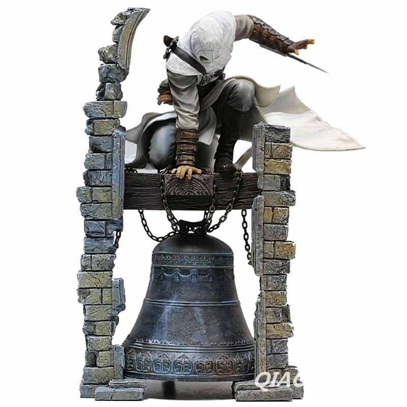 Assassin's Creed ALTAIR The Legendary Assassin Clock Tower  Statue PVC Action Figure Collectible Model Toy Boxed W138 assassins creed connor action figure iii game toys assassin creed 260mm pvc anime collectible action figures assassin creed toy