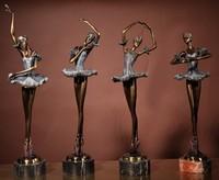 Bronze Ballet Sculpture, Ballet Statue,Brass Ballet figurine