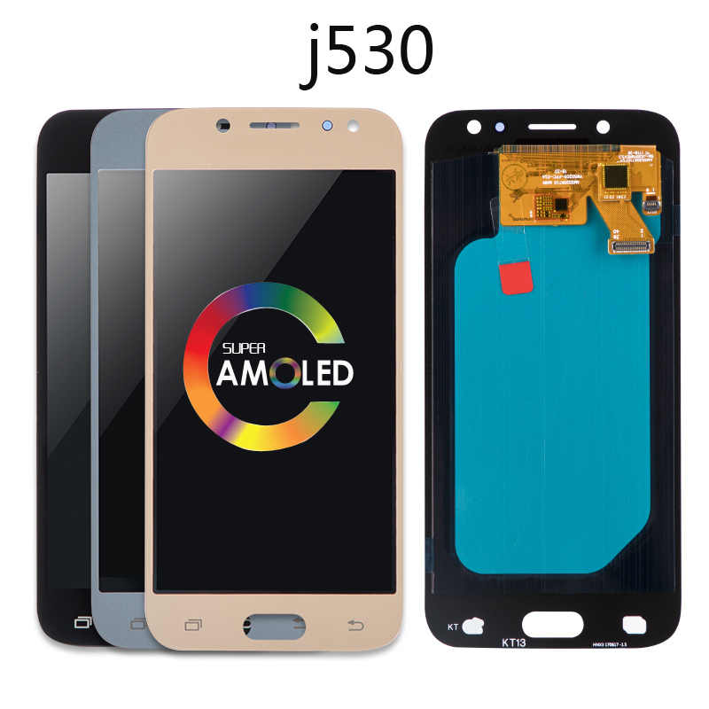 Original OLED TFT lcd สำหรับ Samsung GALAXY J5 pro 2017 LCD J530 J530F J530FN SM-J530F จอแสดงผล Touch screen Digitizer Assembly