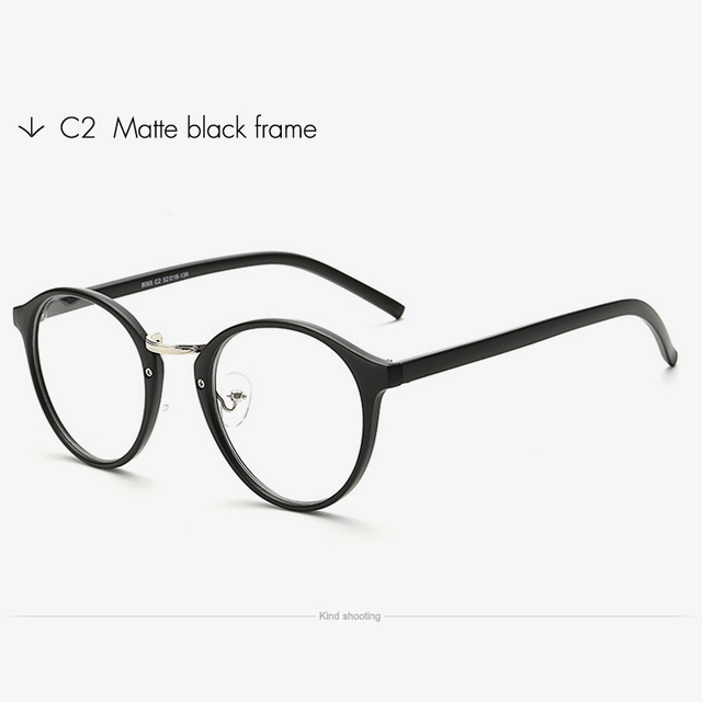 4bacc59c5c7 Toketorism Transparent eyeglasses vintage men women fashion spectacles  Prescription glasses frame
