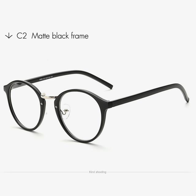 51025fcfbc Toketorism Transparent eyeglasses vintage men women fashion spectacles  Prescription glasses frame