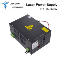 DRAGON DIAMOND 60W CO2 Laser Power Supply for CO2 Laser Engraver Cutting Machine HY T60 T / W Plus Series with Long Warranty