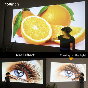 Image 5 - BYINTEK M1080 풀 HD 1080P 스마트 안 드 로이드 WIFI 홈 시어터 휴대용 LED 미니 프로젝터 비머 3D 4K