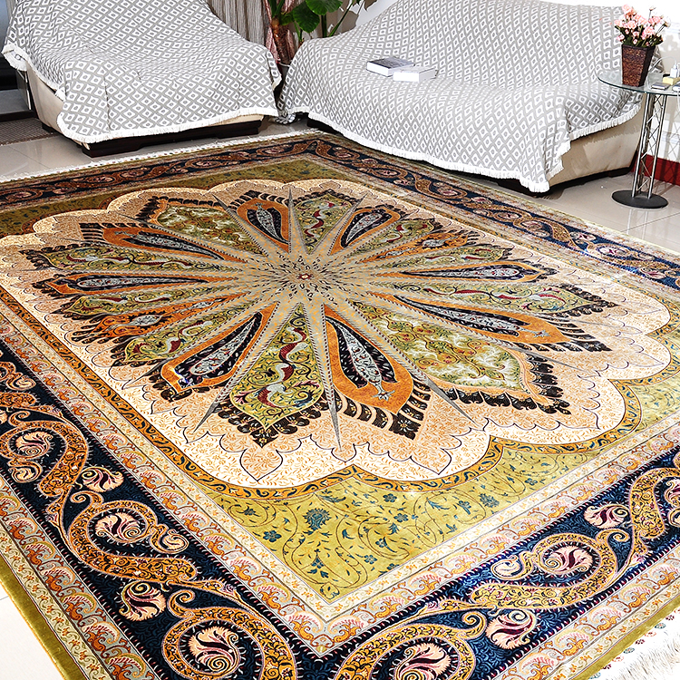 Turkey Design Hot Silk Carpet